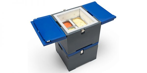 IFI Gelato CoolBox pans open - boven