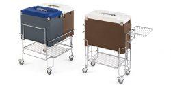 IFI Gelato CoolBox tubs dicht met kar - schuin