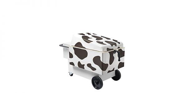 IFI Gelato Cow Joy patroon dicht - schuin