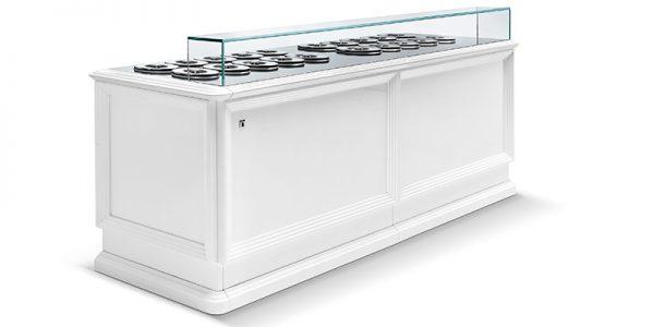 IFI Pozetti meubel - schuin